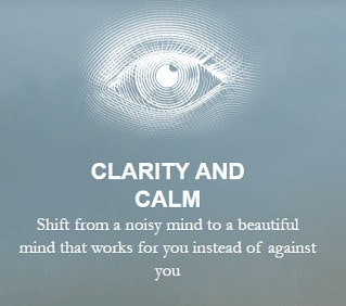 clarity and calmness in mind living from a place of surrender