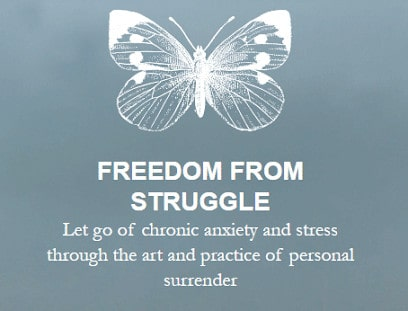 freedom from struggle living from a place of surrender
