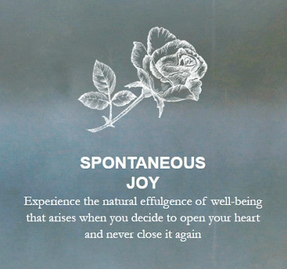 spontaneous joy living from a place of surrender