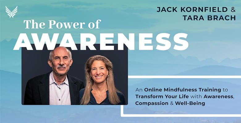 The power of awareness course banner
